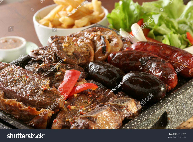 Parrillada argentine barbecue make on live stock photo 4316485 shutterstock - Make lamb barbecue ...