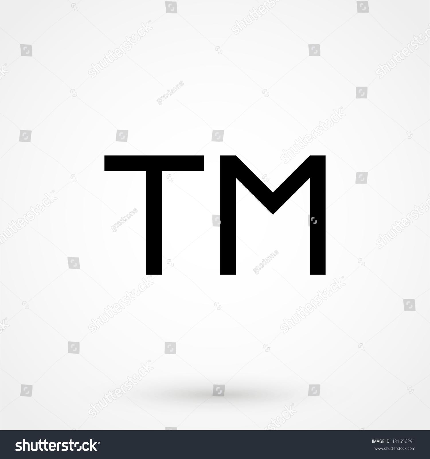 Trademark symbol isolated on background modern stock vector trademark symbol isolated on background modern flat pictogram business marketing internet concept buycottarizona