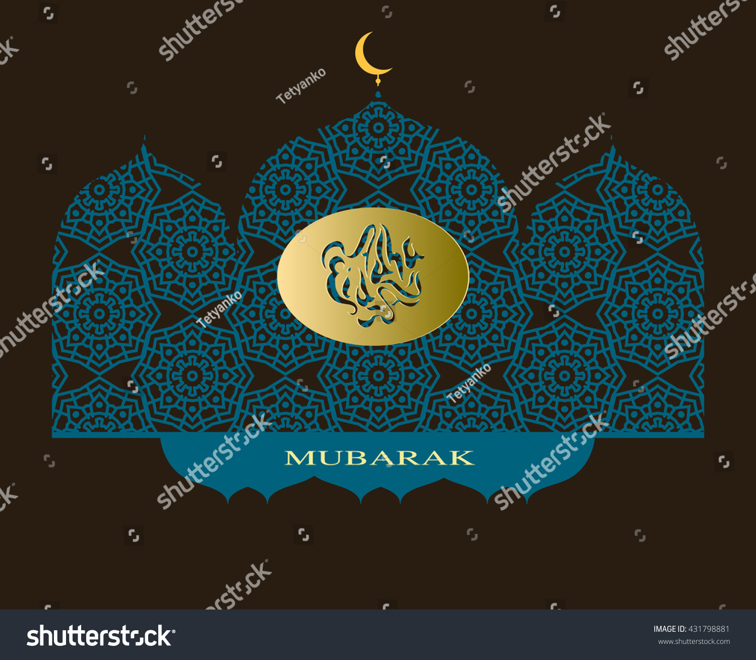Top Eid Mubarak Eid Al-Fitr Decorations - stock-vector-muslim-festival-eid-al-adha-eid-al-fitr-eid-mubarak-illustration-vector-holiday-ornament-431798881  Perfect Image Reference_384359 .jpg