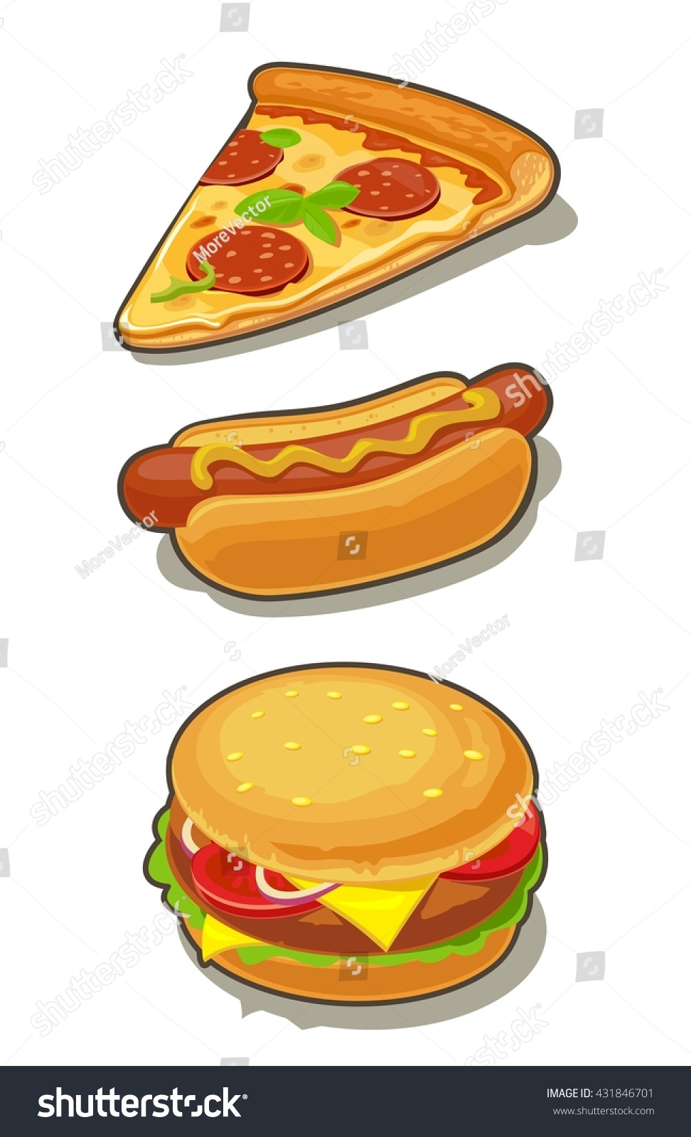 Cartoon Pictures Of A Hot Dog