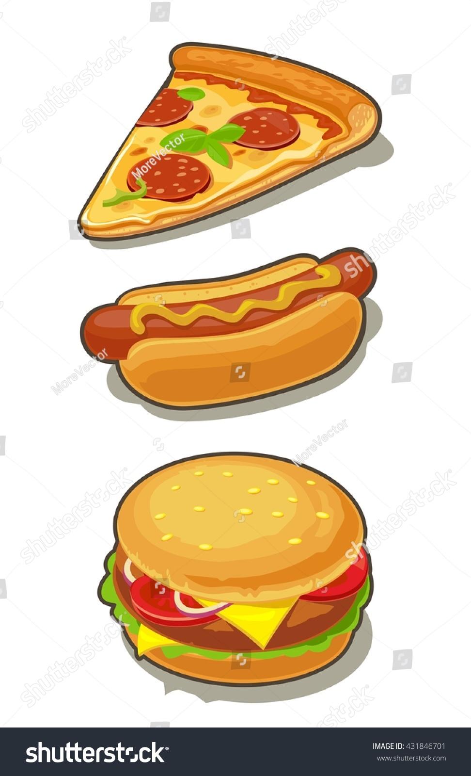 Cartoon Pic Of Hot Dog