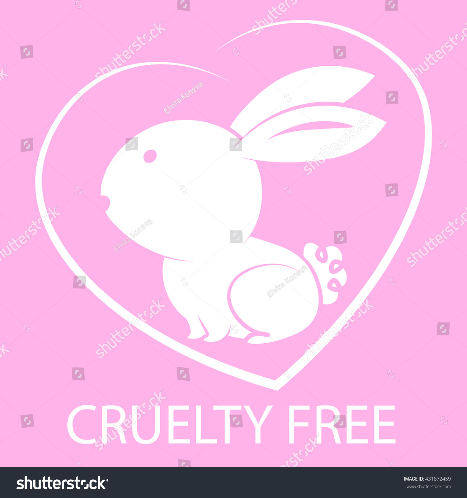 Animal cruelty free icon design animal stock vector 431872459 animal cruelty free icon design animal cruelty free symbol design product not tested on biocorpaavc Gallery