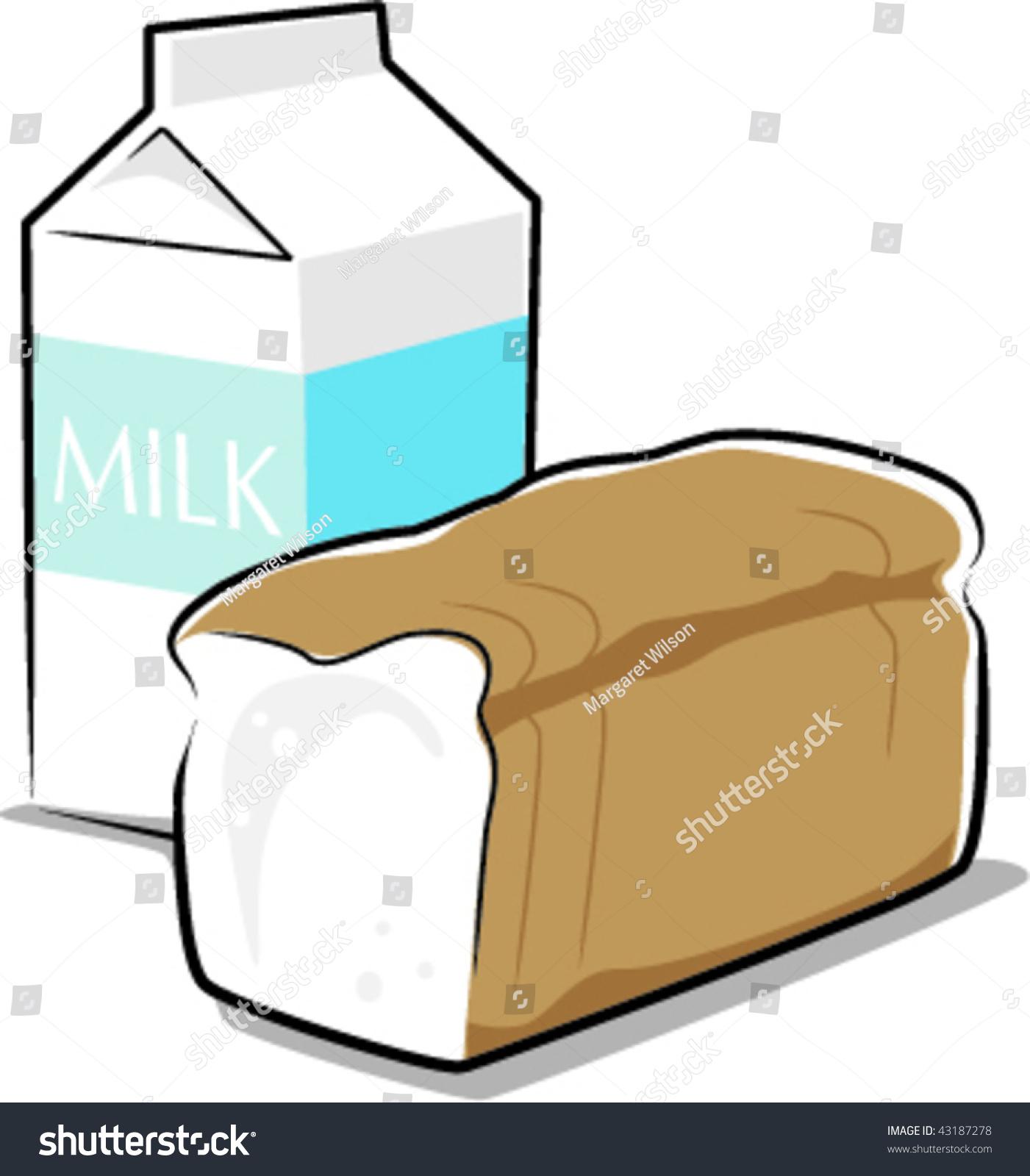 milk bread stock vector 43187278 shutterstock blanket clip art free blanket clip art free