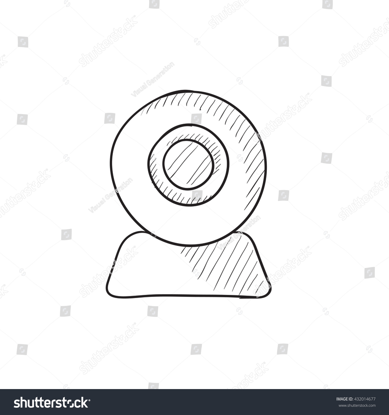 web camera vector sketch icon isolated stock vector royalty free Web Page Diagram web camera vector sketch icon isolated on background hand drawn web camera icon web