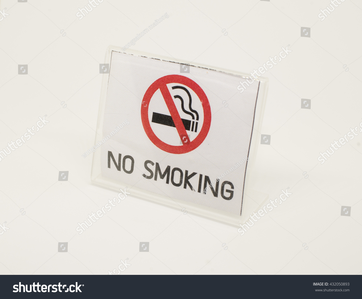 No smoking symbol white background stock photo 432050893 shutterstock no smoking symbol in white background buycottarizona Images