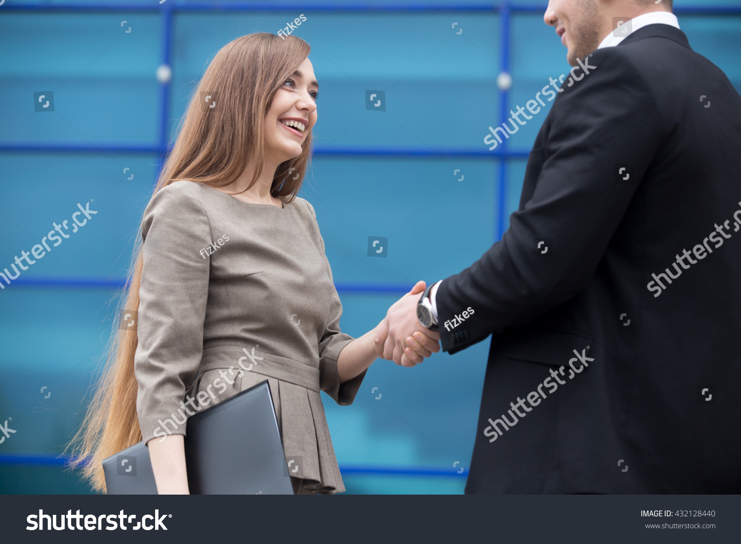 Business people handshake greeting deal at work photo free download - Successful Business People Shaking Hands For Greeting Or In Agreement Happy To Work Together Focus