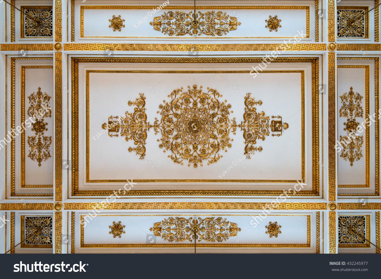 Antique baroque ceiling stock photo 432245977 shutterstock antique and baroque ceiling doublecrazyfo Gallery