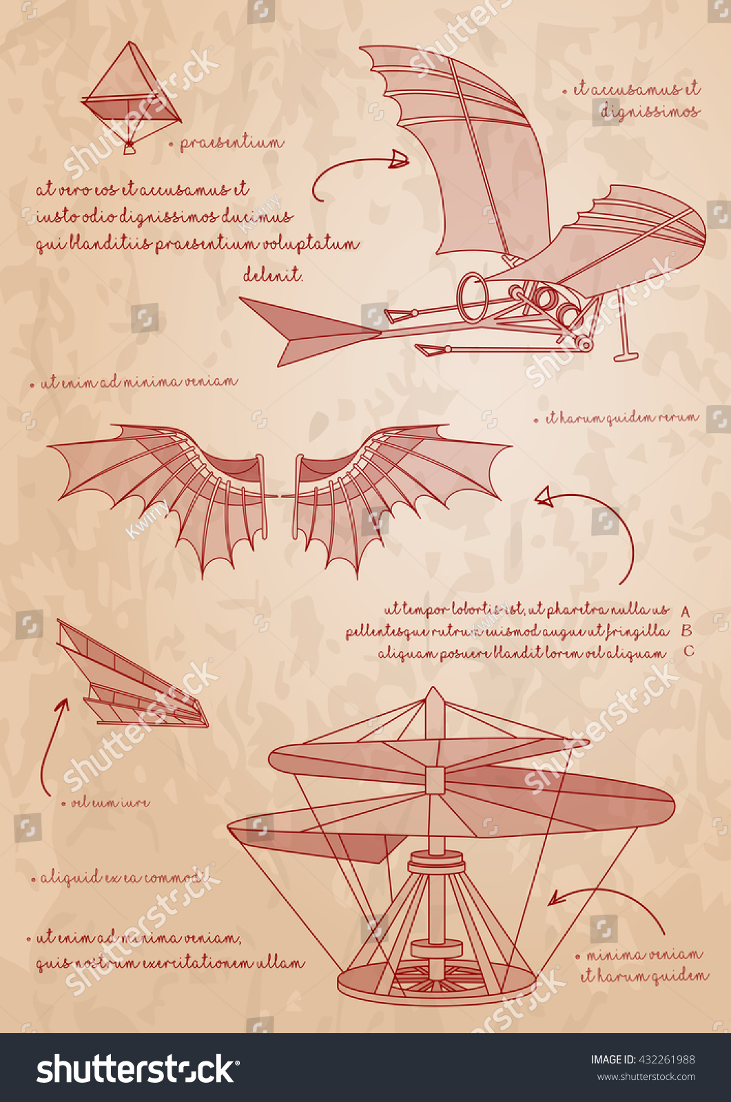 in leonardo da vinci s design for a flying machine he used a as his inspiration