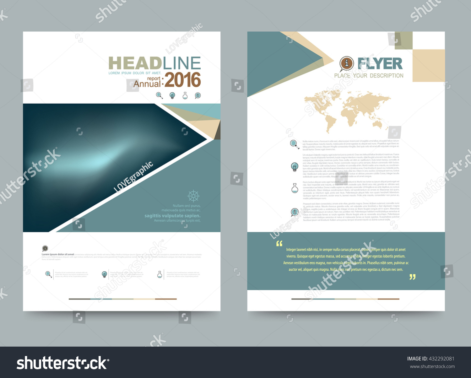 green abstract polygonal design cover template vector green abstract polygonal design cover template vector illustration annual report brochure flyer leaflet