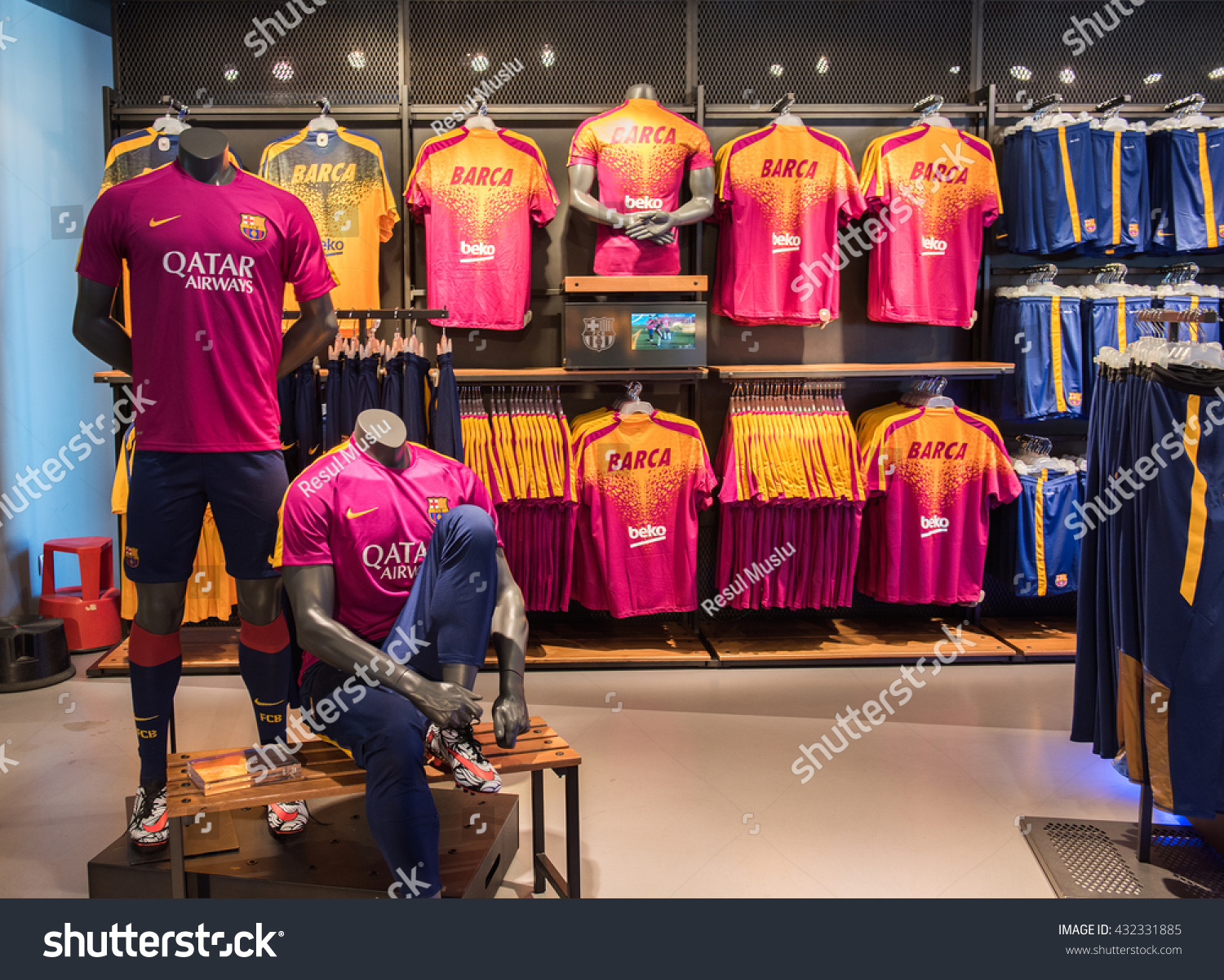 BARCELONA SPAIN MAY 28 2016 FC Stock Photo (Edit Now) 432331885 ... e6c620ab8d8