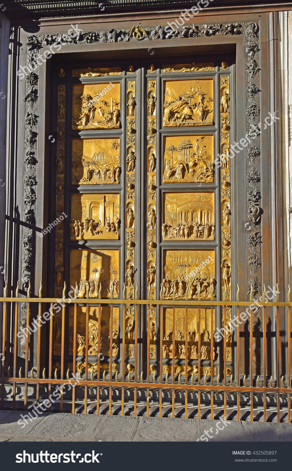 East Doors Gates Paradise By Lorenzo Stock Photo (Royalty Free) 432505897 - Shutterstock & East Doors Gates Paradise By Lorenzo Stock Photo (Royalty Free ...