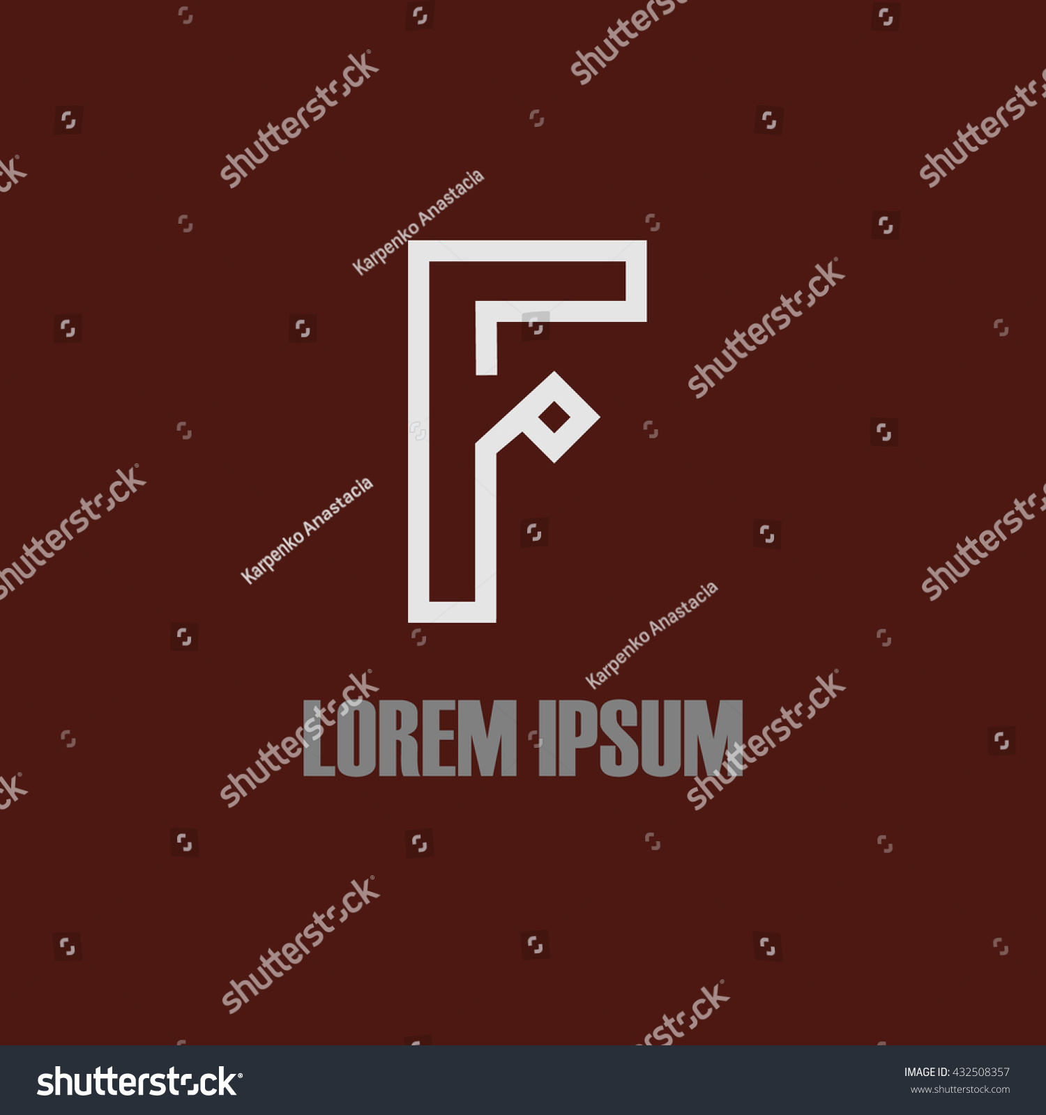 Tj initial luxury ornament monogram logo stock vector - Similar Images To Logo Letters F Stock Vector