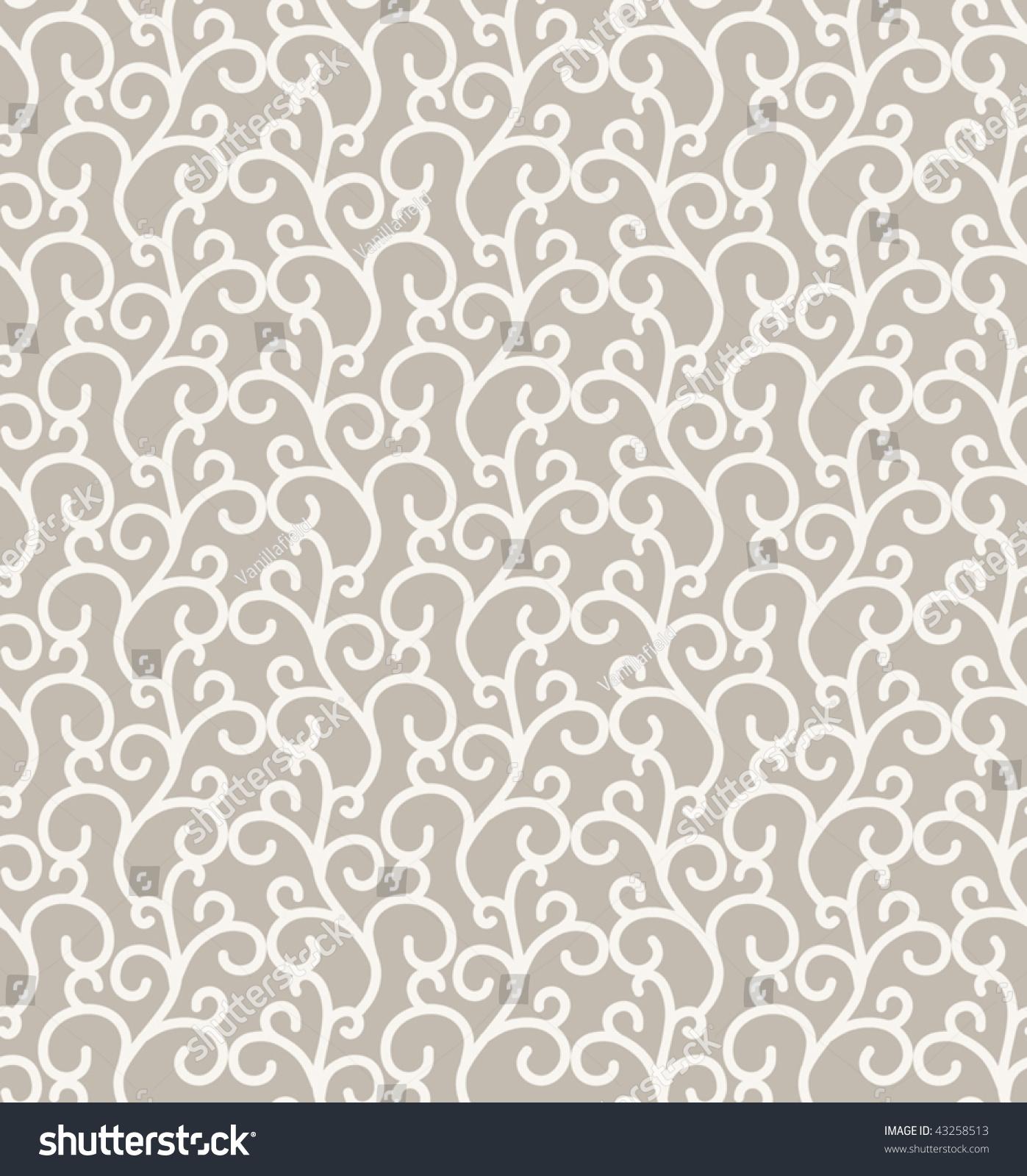 Elegant curl pattern in neutral colors stock vector for Elegant neutral paint colors