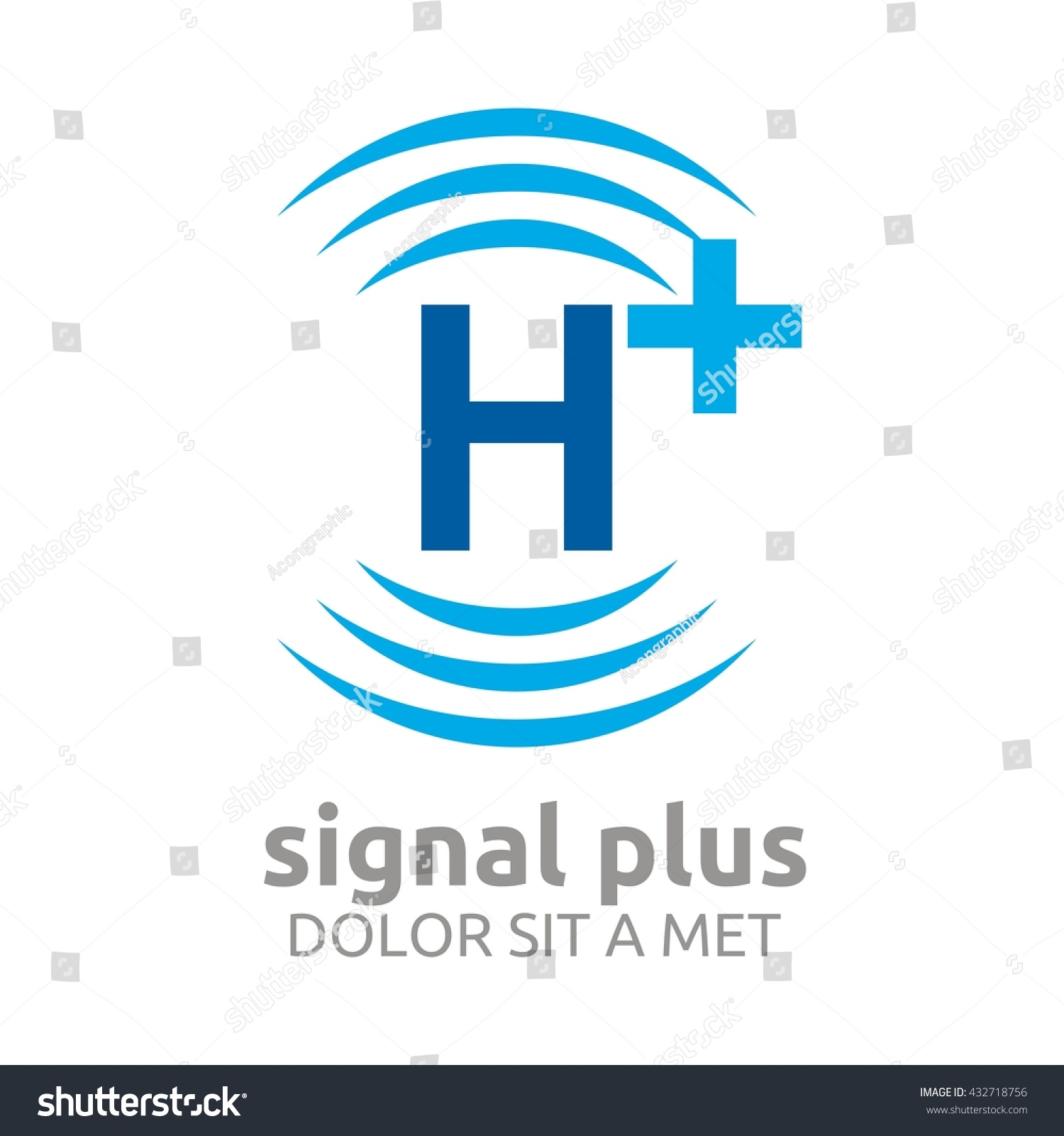 Signal plus wifi plus sign design stock vector 432718756 signal plus with wifi plus sign design vector template add wifi symbol wireless network buycottarizona