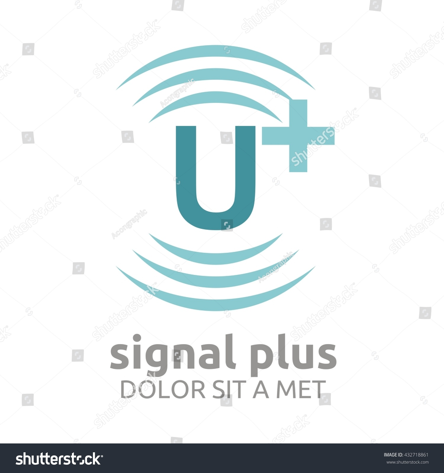 Signal plus wifi plus sign design stock vector 432718861 signal plus with wifi plus sign design vector template add wifi symbol wireless network buycottarizona