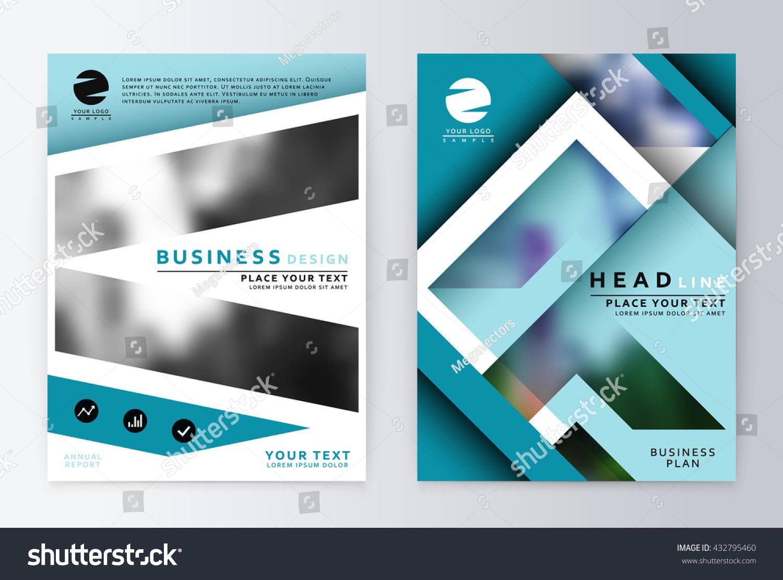 annual report brochure flyer annual report stock vector 432795460, Presentation templates