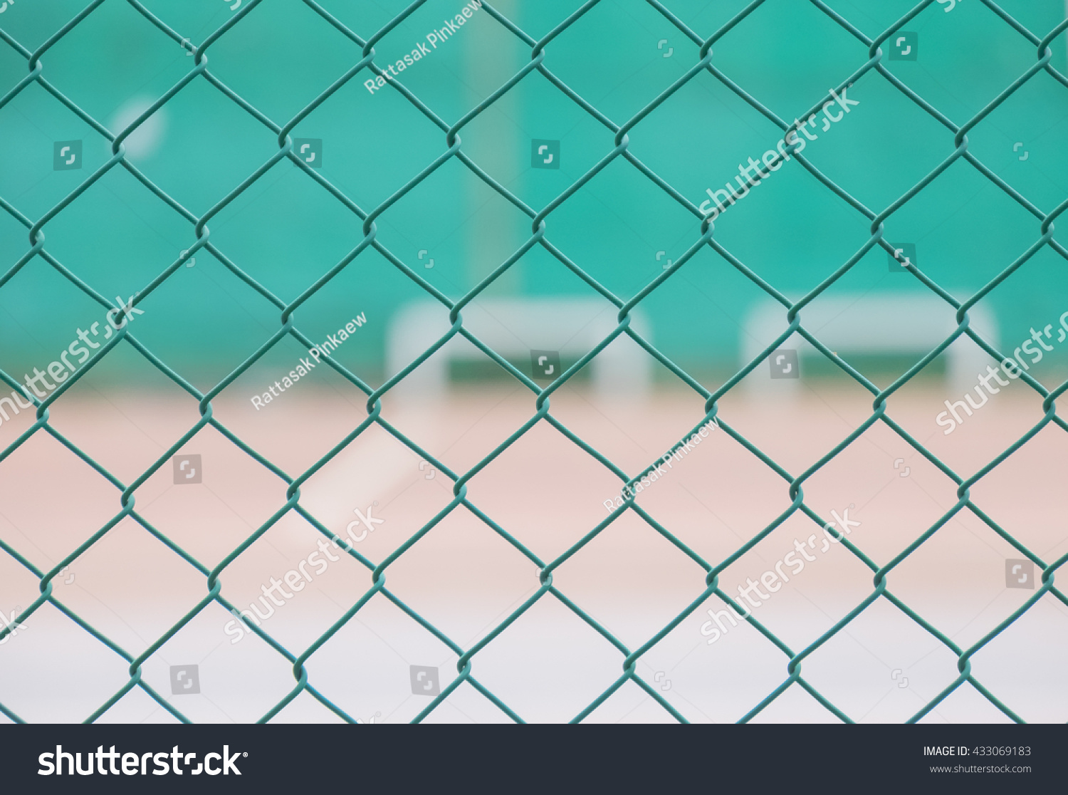 Blur Soft Focus Green Steel Net Stock Photo (Royalty Free) 433069183 ...