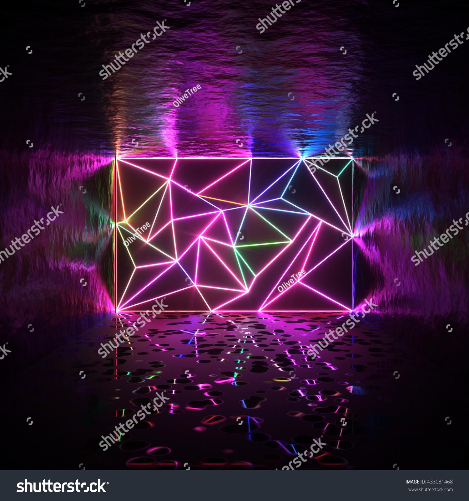 3d neon cruises wall - photo #23
