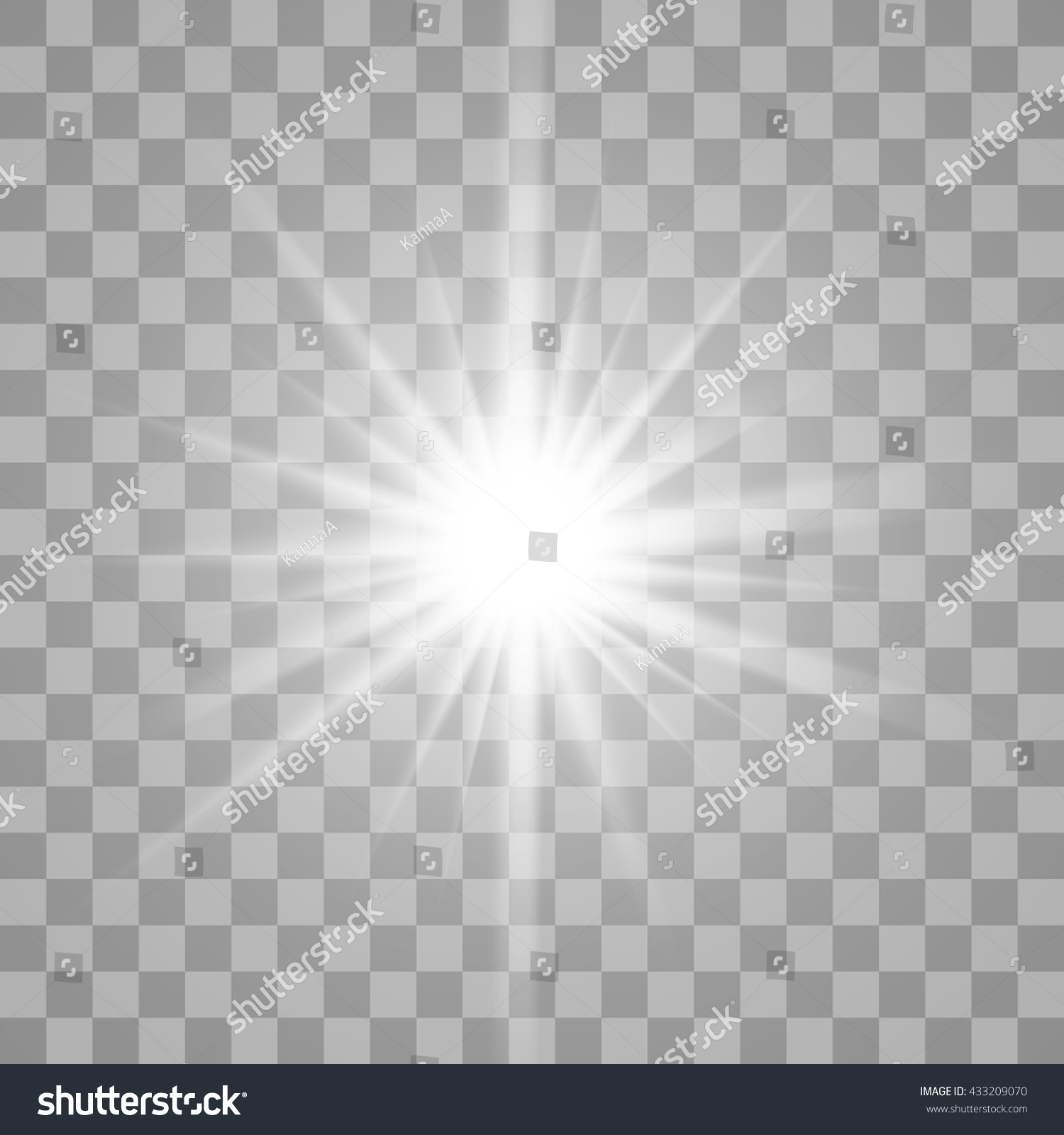 White Glowing Light Burst Explosion Transparent Stock Vector ... for Star Light Effect Png  lp4eri