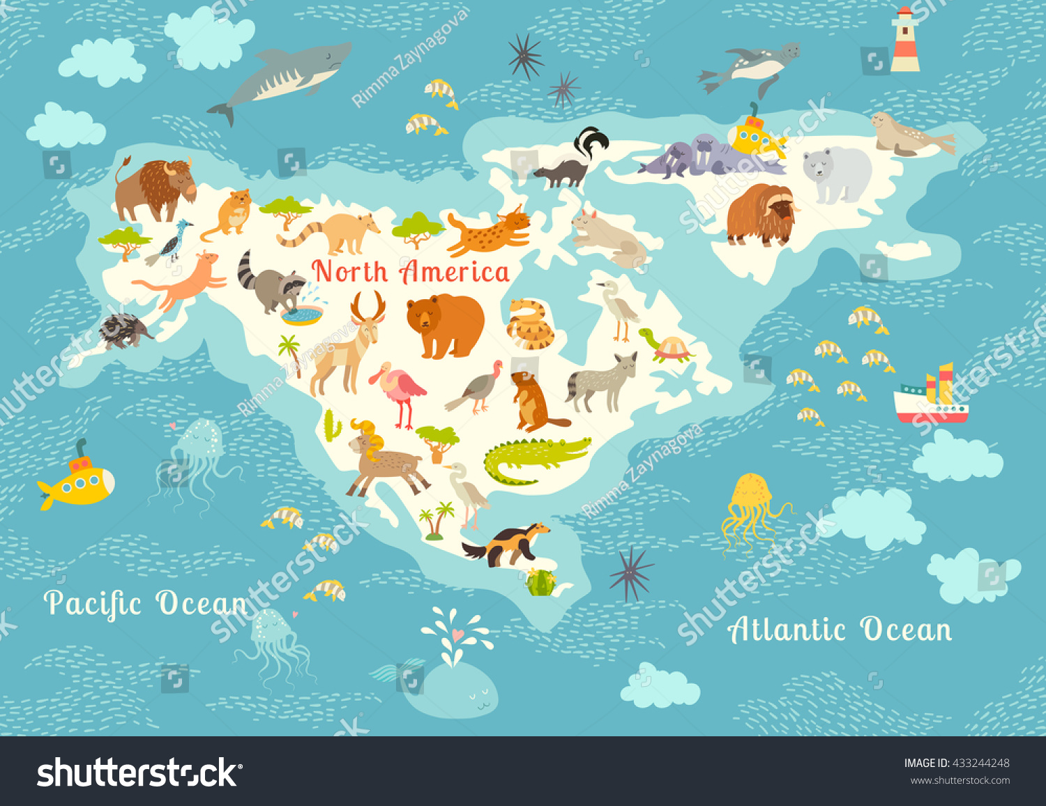 north america map editable map of north american countries and