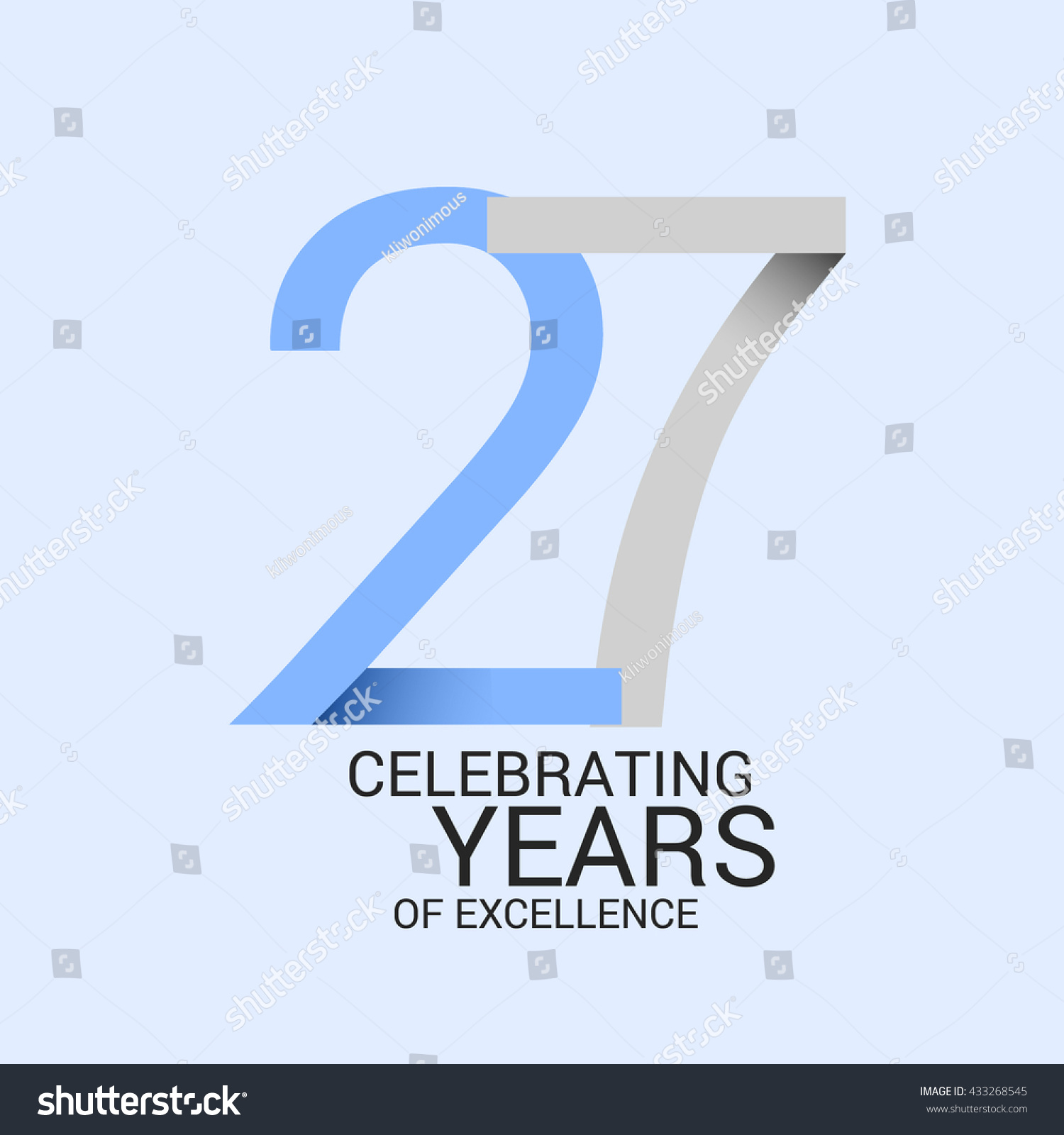 27 years anniversary signs symbols simple stock vector 433268545 27 years anniversary signs symbols simple design biocorpaavc Images