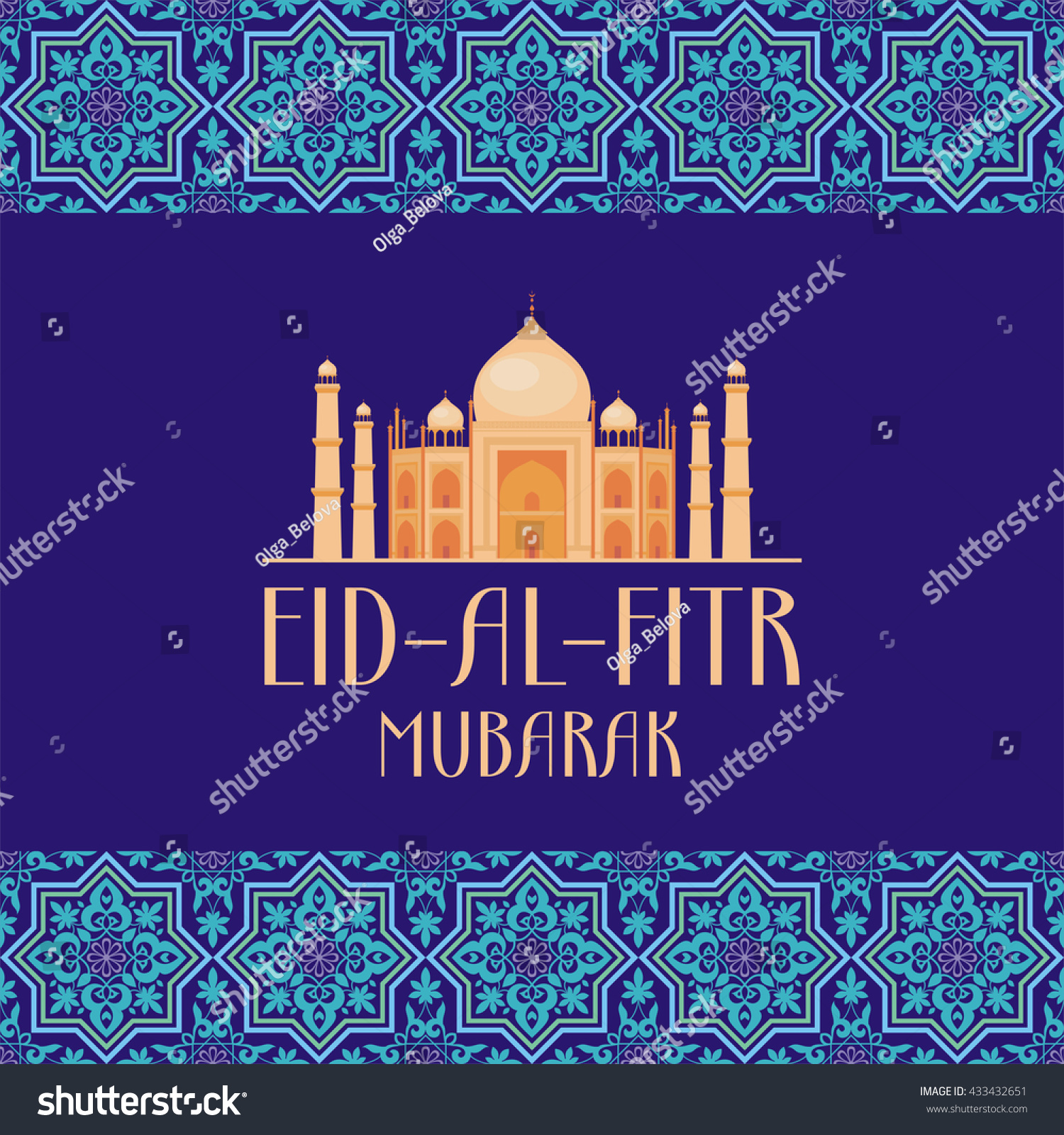 Good Different Eid Al-Fitr Greeting - stock-vector-eid-al-fitr-greeting-card-with-the-image-of-an-mosque-433432651  2018_28841 .jpg