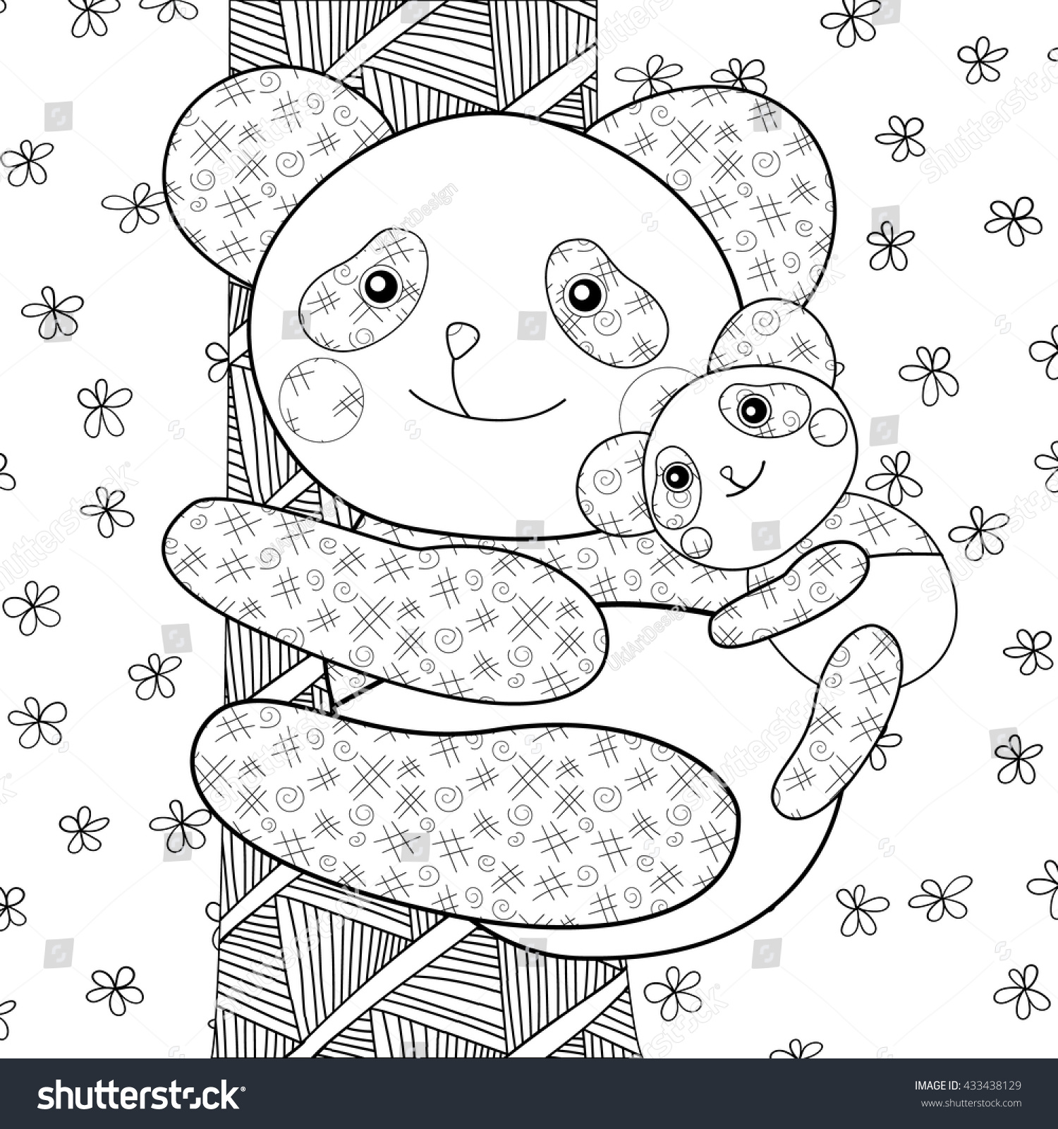 whimsical bear coloring pages - photo#25