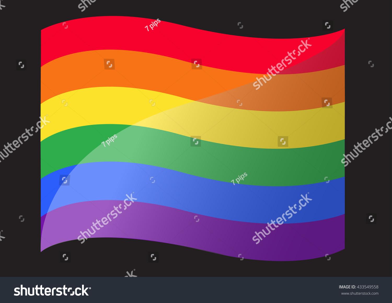 Rainbow Flag Lgbt Symbol Vector Eps10 Ez Canvas