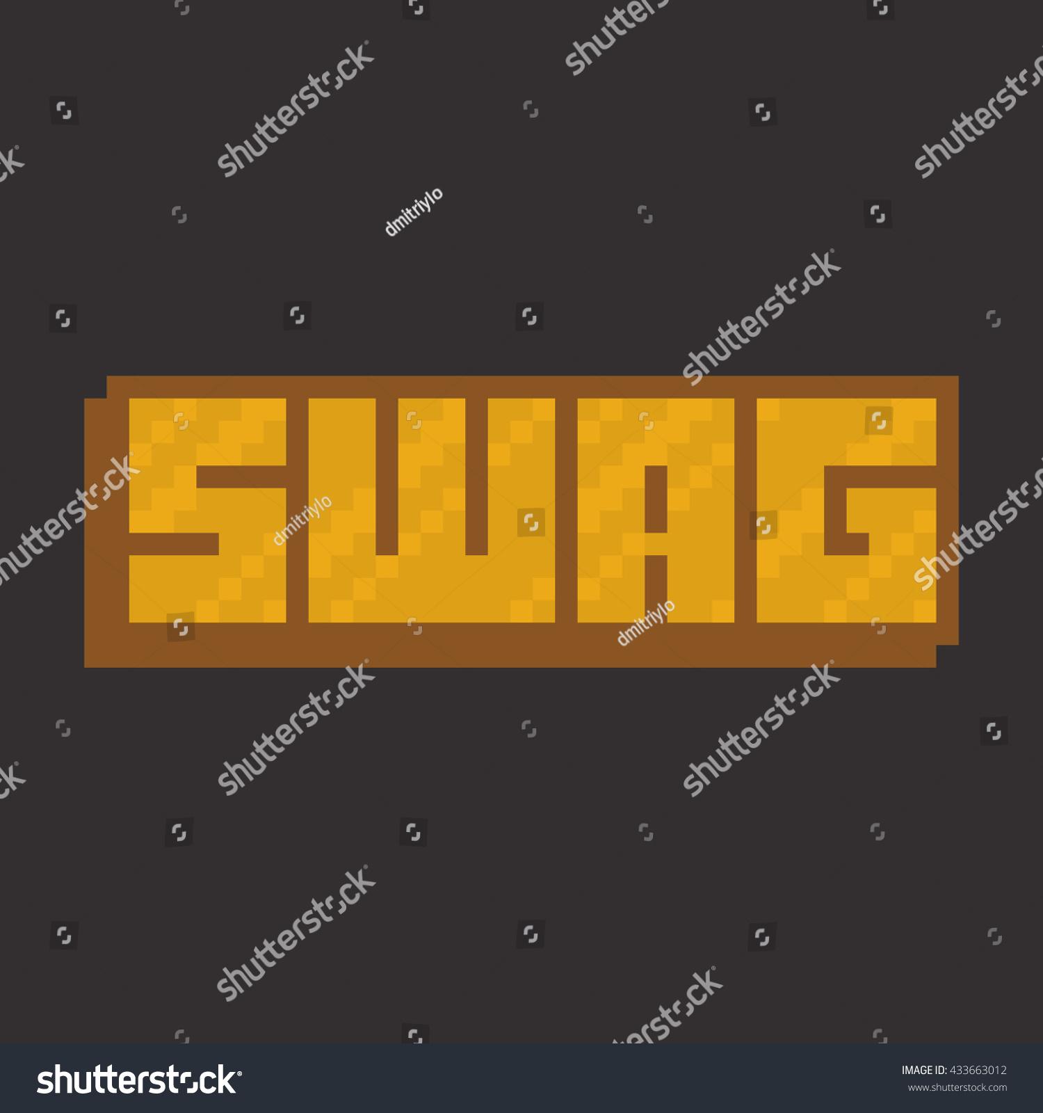 pixel art swag