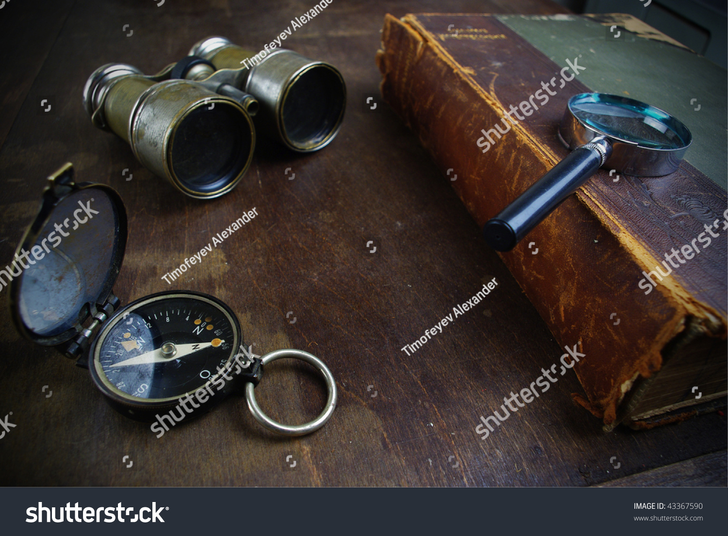 Old fashioned objects stock photo 43367590 shutterstock for Old objects