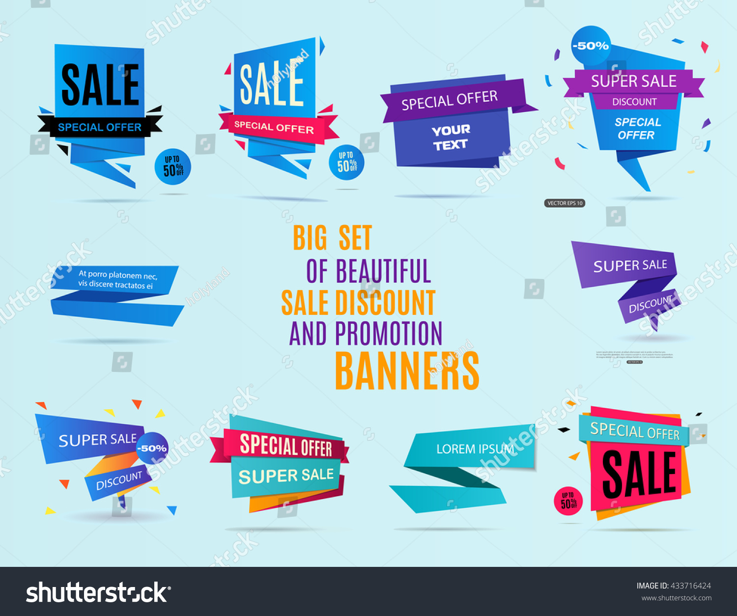 Sale Banner Banners Concept Banners