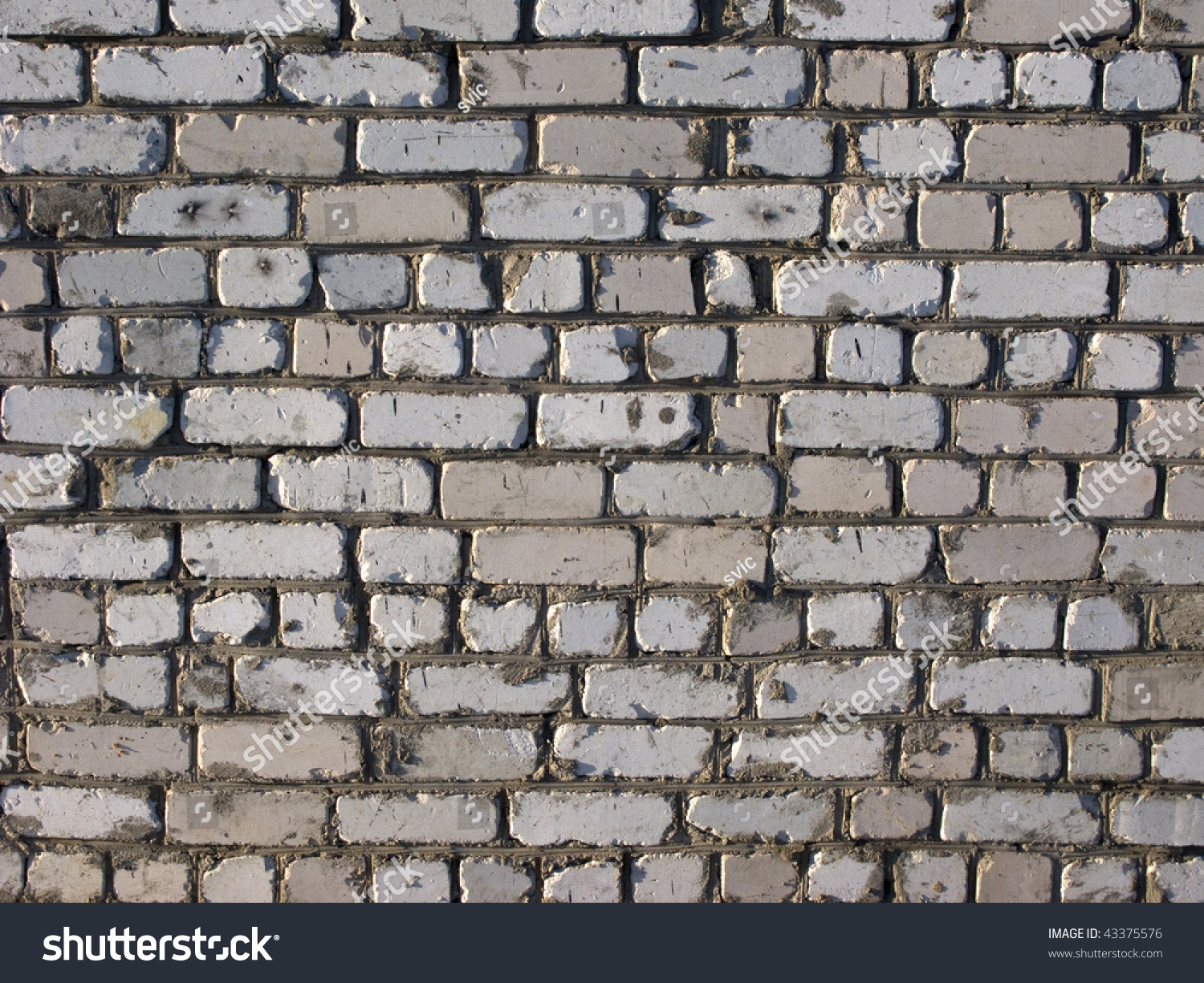 Closeup dirty white brick wall surface stock photo for Wall surface texture