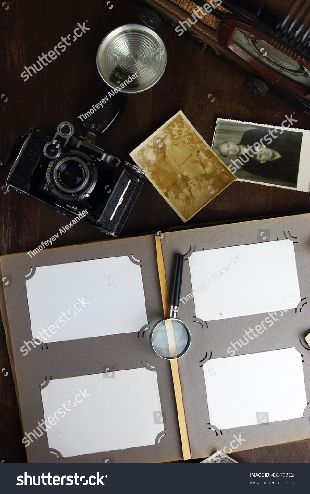 Old fashioned objects stock photo 43379362 shutterstock for Old objects