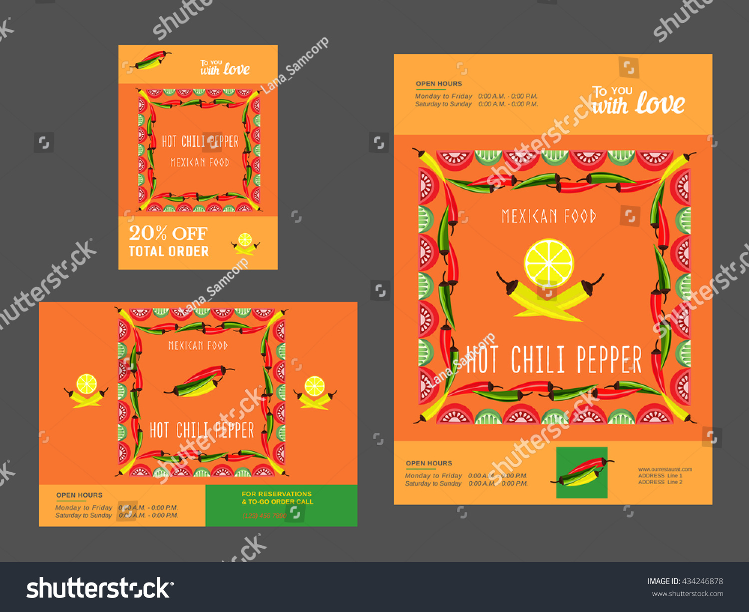 set brochure templates restaurant mexican food stock vector set of brochure templates for restaurant mexican food advertisement flyer a4 a5 a6