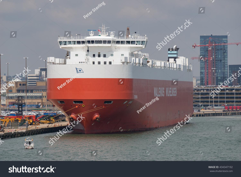 Southampton Docks Southamptonuk 8th June 2016 Stock Photo (Edit Now