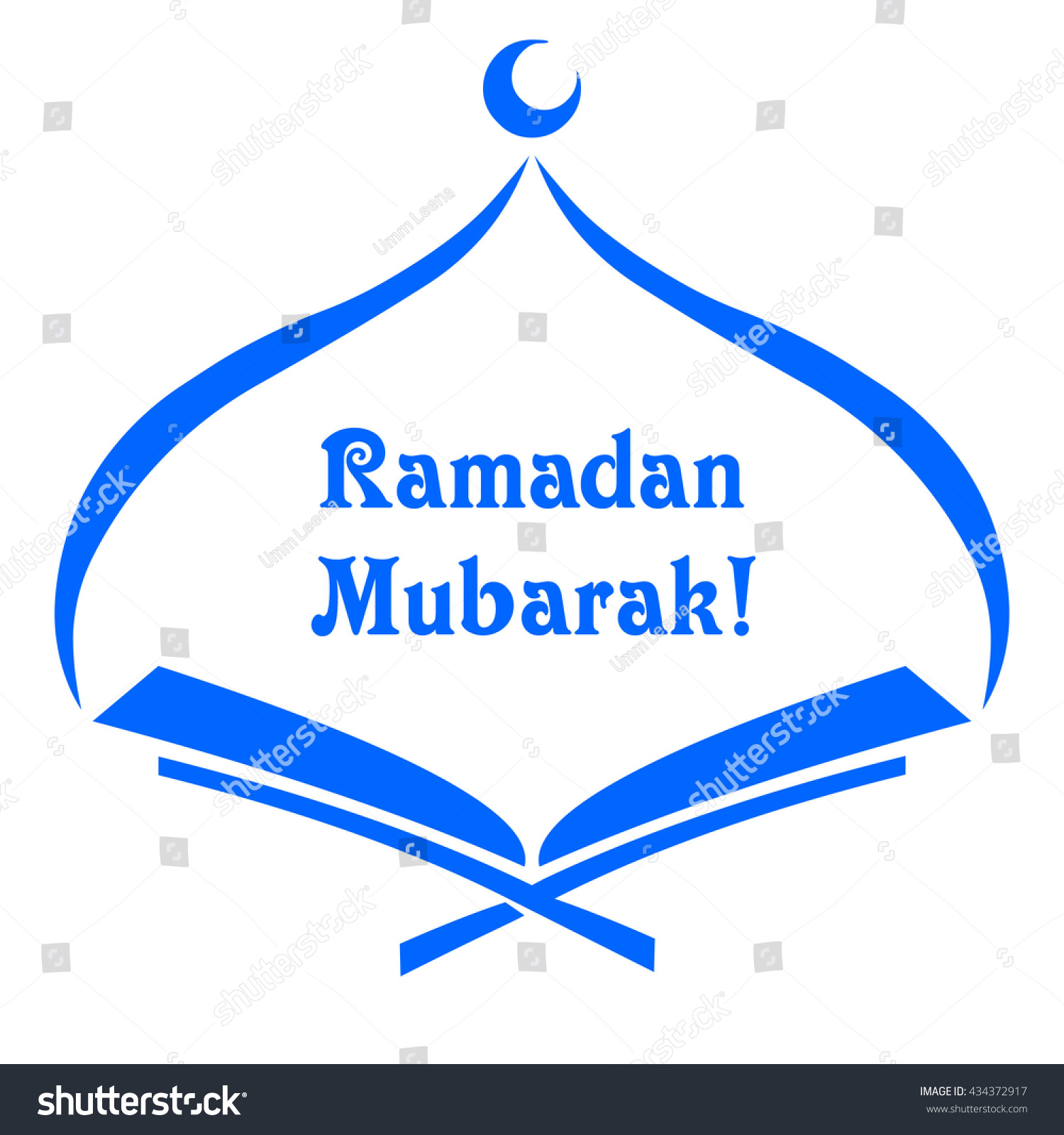 islamic template stencil ramadan mubarak koran のベクター画像素材