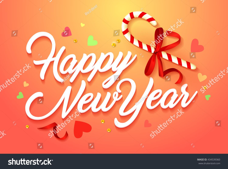 Happy New Year Orange 30
