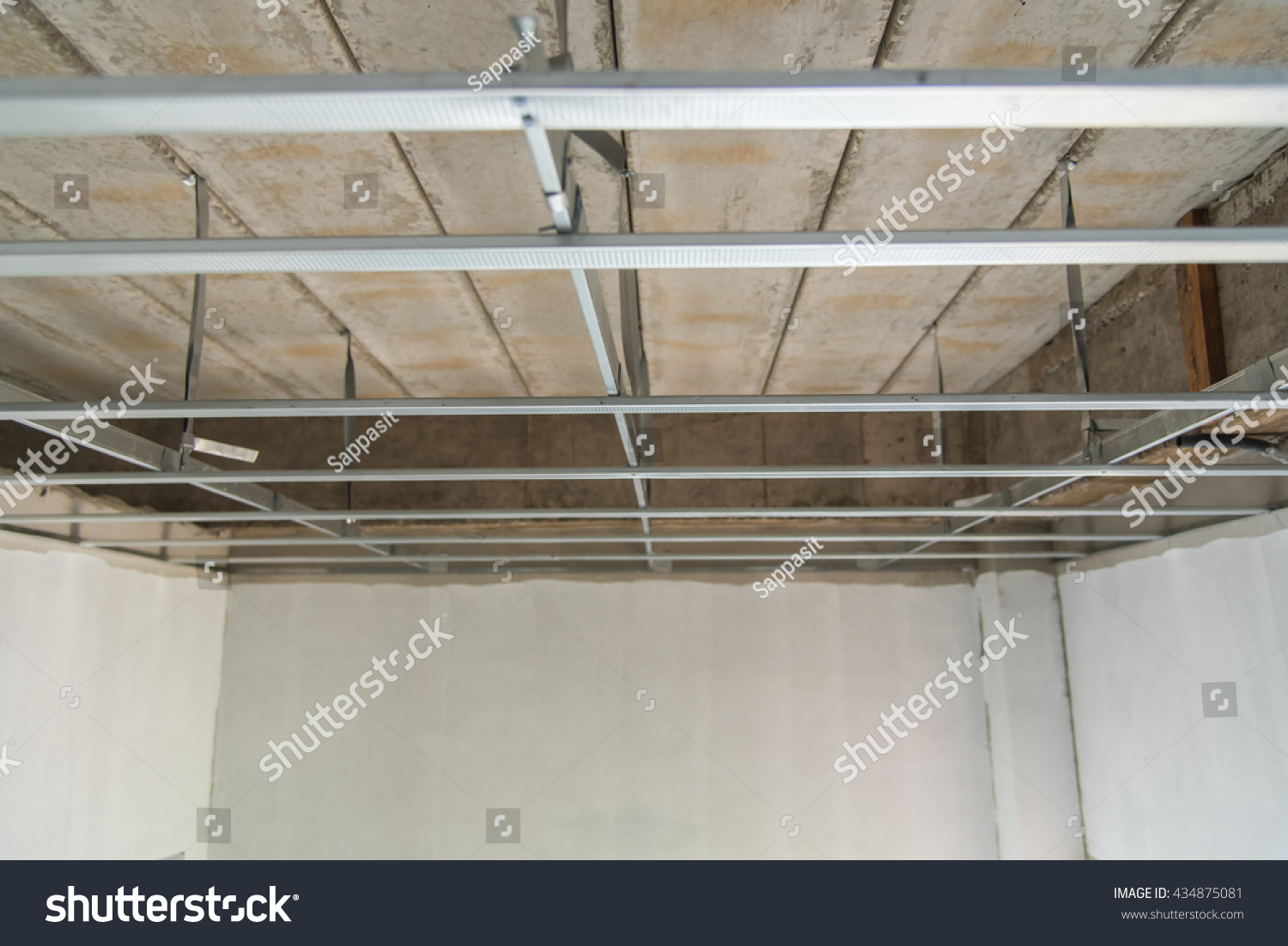 how to build a suspended plasterboard ceiling