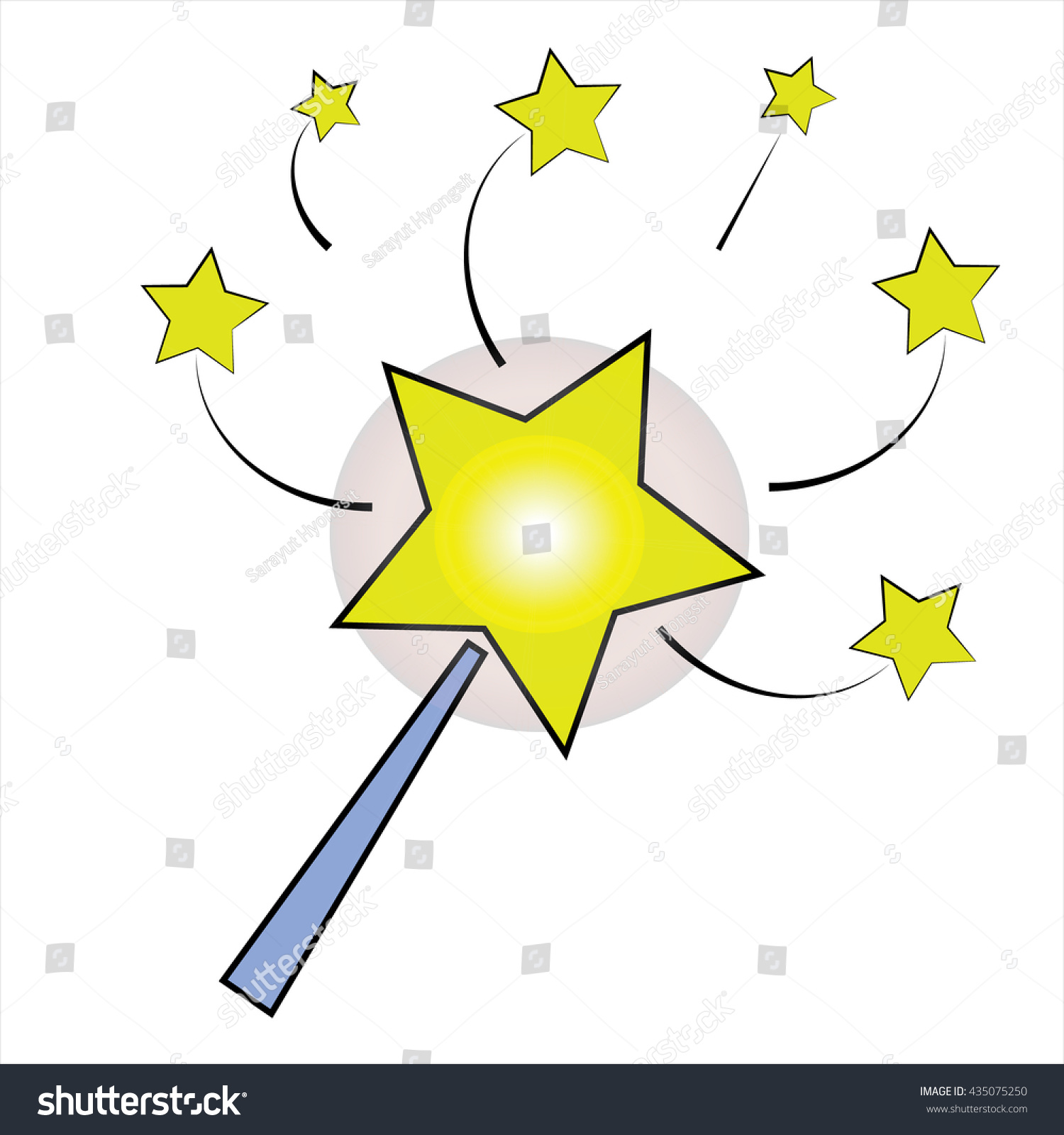 Magic Icon Stock Vector 435075250 - Shutterstock