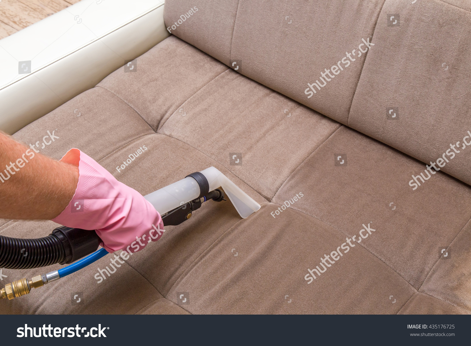 Sofa Chemical Cleaning Professionally Extraction Method Stock Photo 435176725 Shutterstock
