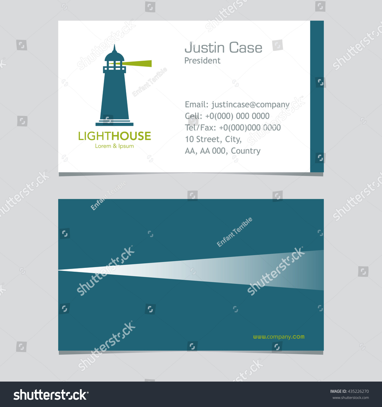Lighthouse business sign business card vector stock vector lighthouse business sign business card vector template lighthouse with light beam icon nautical magicingreecefo Images