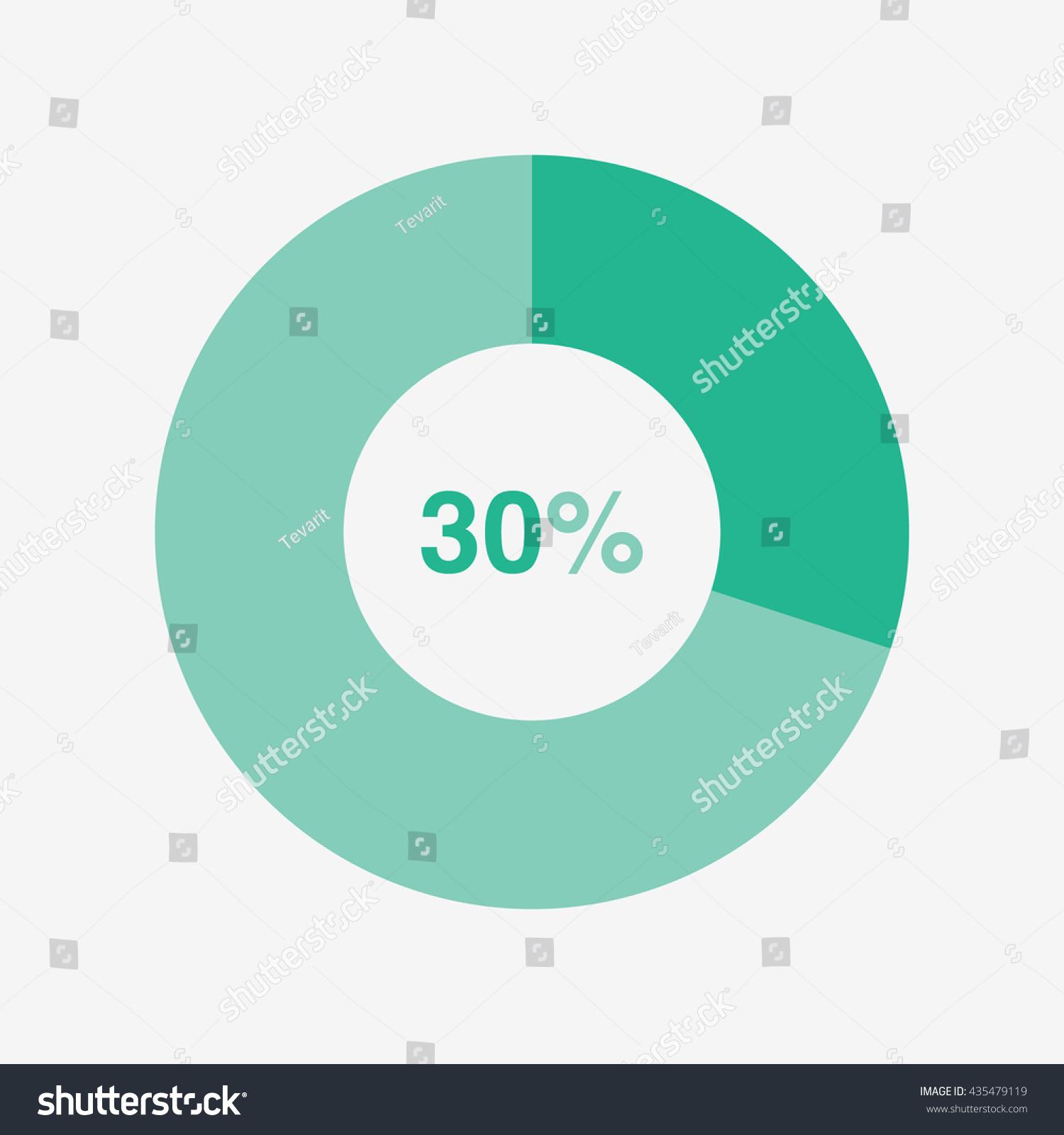 Icon pie green chart 30 percent stock vector 435479119 shutterstock icon pie green chart 30 percent pie chart vector nvjuhfo Choice Image
