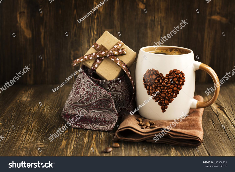 Happy Fathers Day Card Mug Coffee Stock Photo Edit Now 435568729