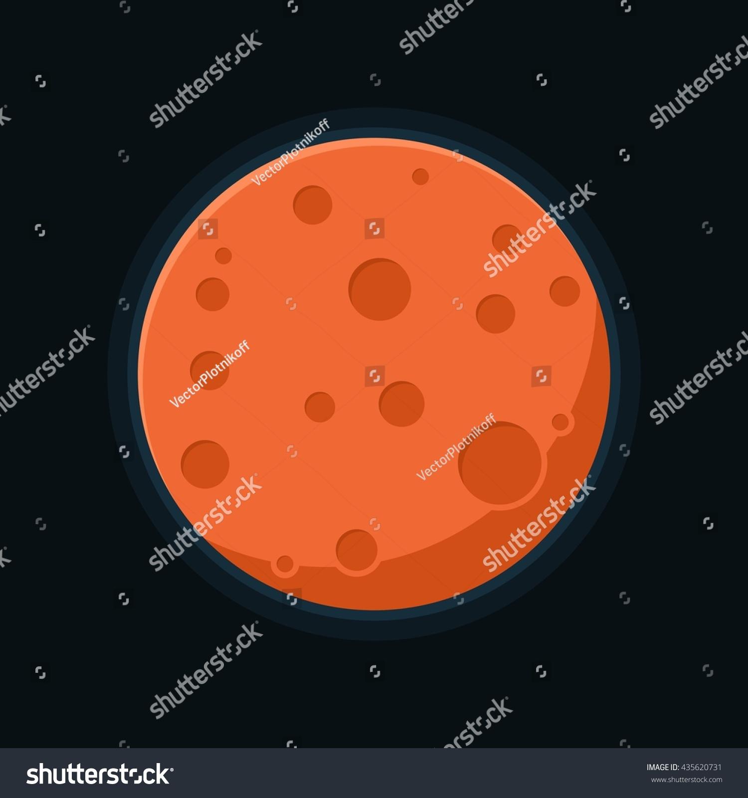 mars planet vector - photo #2