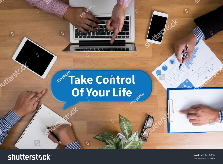 Prendi il controllo della tua vita Business Team Archivio Fotografico 435723022 - Shutterstock-5629