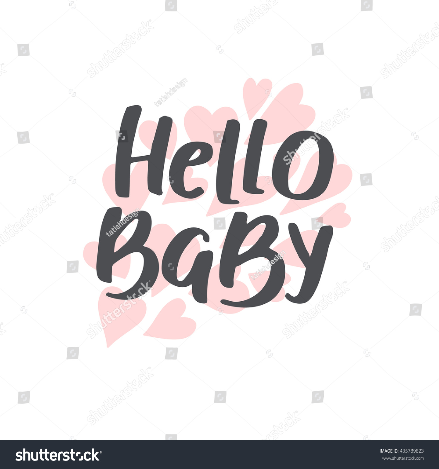 Baby Shower Girl Boy Vector Text Stock Vector Shutterstock