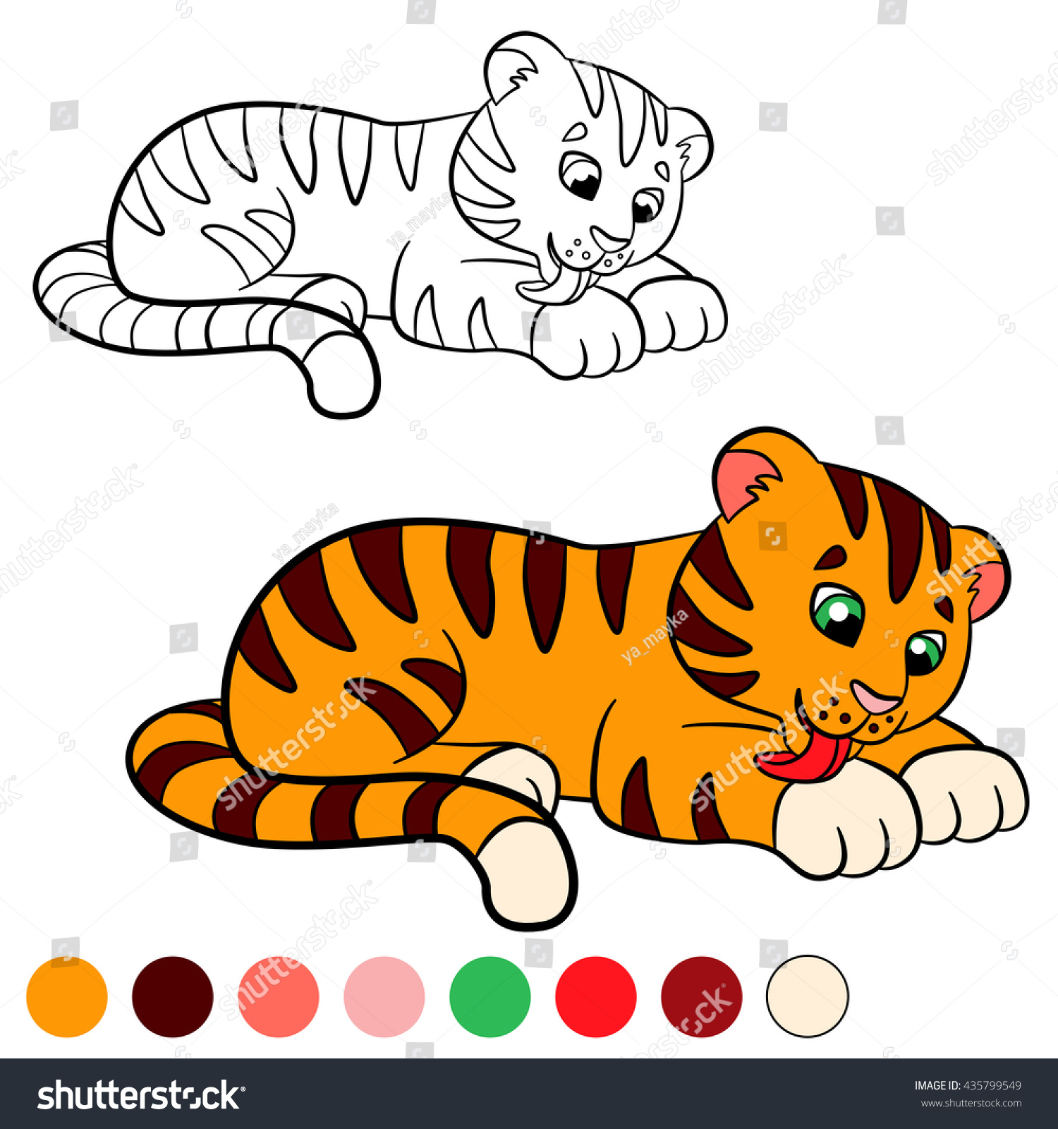 Lisa Frank Tiger Coloring Pages For Kids   Lisa frank coloring ...   1600x1500
