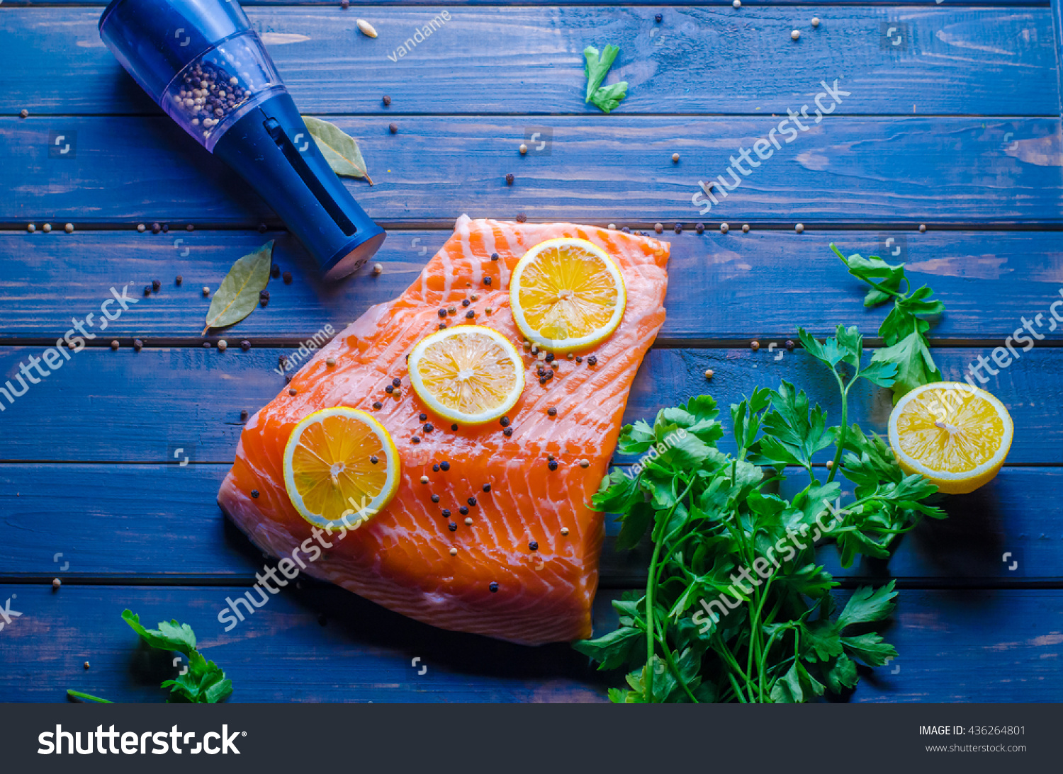 Red fish fillet stock photo 436264801 shutterstock for Red fish fillet