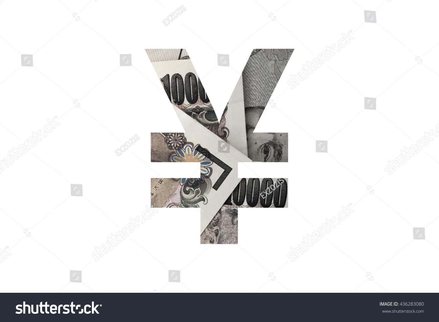 Yen symbol text collage japanese currency stock photo 436283080 yen symbol text with collage of japanese currency biocorpaavc Choice Image