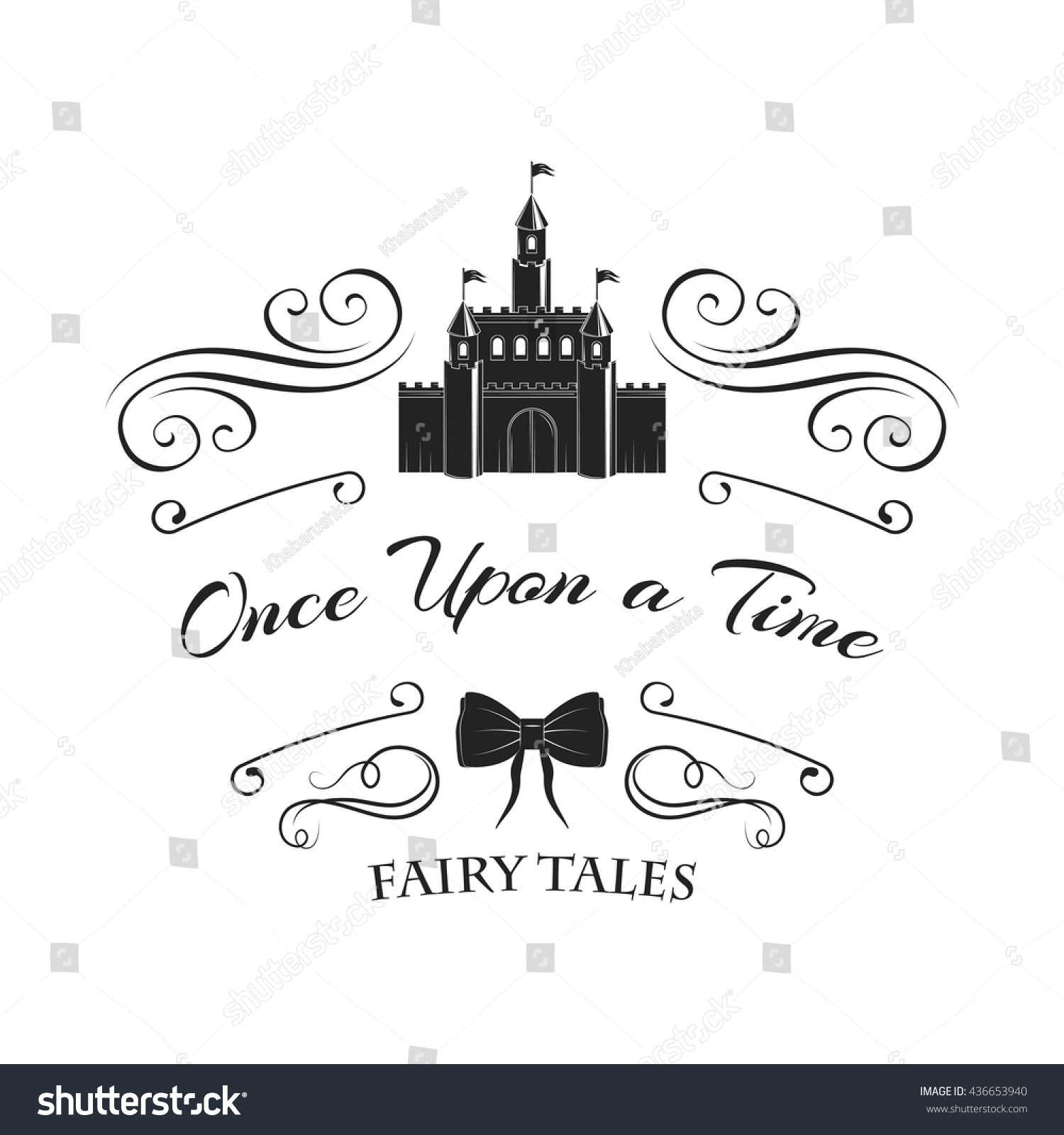 Once Upon Time Fairy Tale Castle Stock Photo (Photo, Vector ...